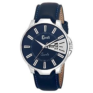 Cavalli Analogue Blue Dial Men's & Boy's Watch - Cs2666