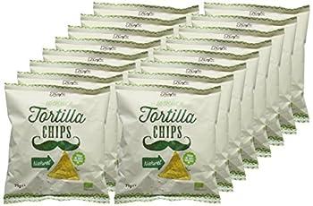 Trafo Tortilla Organic Natural Chips 75 G (Pack Of 16) 1