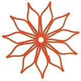Spice di cricchetto Blossom silicone sottopentola mini arancione
