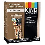 Kind Bar, Madagascar Vanilla Almond 40 g (Pack of 12)