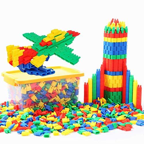LONTG 450PCS Jeu de Construction Puzzle Enfants EnsembleBlocs Briques de Construction Intelligence...