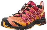 Salomon Damen Xa Pro 3D Traillaufschuhe, Orange (Black/Virtual Pink), 42 2/3 EU