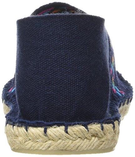 Cala Unisex-Erwachsene Classique 2 Espadrilles Bleu (Aztèque Marine)