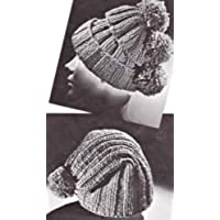 Quick Knit Hat Cap Beanie Tam in Two Versions Knitting Pattern (English Edition)