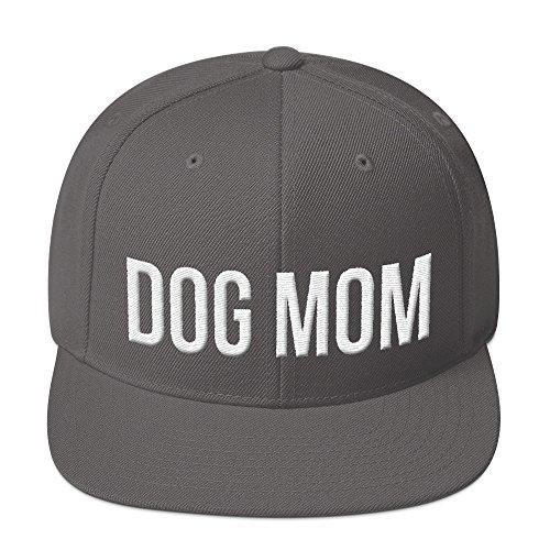 PlimPlom Dog Mom Snapback Hundemama Kappe Baseball Cap Cooles Design Gestickt Für Damen Design Baseball-kappen