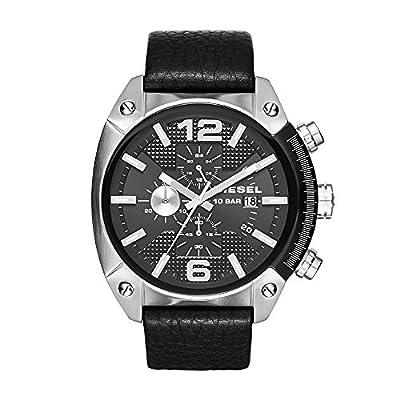 Diesel Reloj Hombre de Analogico con Correa en Cuero DZ4341