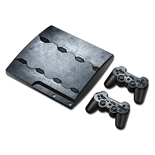 Preisvergleich Produktbild Laixing Skin Vinyl Decal Cover fur PS3 PlayStation 3 Slim+2 Controller