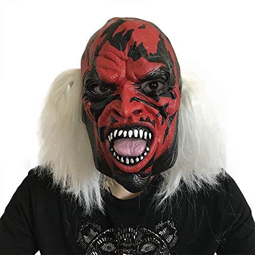 Rwdacfs Masken für Erwachsene,Halloween Horror Hexe Maske Gesicht Maskenball Leistung beängstigend (Beängstigend Hexe Maske)