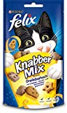Felix Knabber Mix Katzensnack Dreikäsehoch, 8er Pack (8 x 60 g)