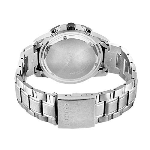 Seiko Men's Chronograph Quartz Watch with Stainless Steel Bracelet – SSC147P1