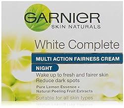 Garnier Skin Naturals Light/White Complete Night Fairness Cream, 18g