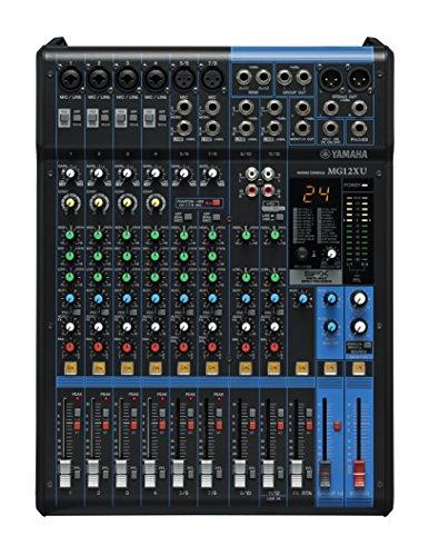 Yamaha MG12X U de mixage 12canaux avec alimentation Phantom + Effets