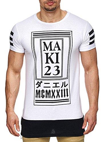 S!RPREME - Maglietta sportiva - Maniche corte  -  uomo bianco M