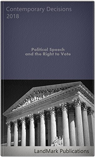 Political Speech and the Right to Vote (English Edition)