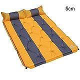 ASL Automatisches aufblasbares Bett Suv Luftkissen-Bett, im Freienauto NAP Matratze-Spielraum-Schlafmatte Gefaltete bewegliche Freizeit-Schlafenmatte Ferien-kampierende Feuchtigkeitsbeweisauflage 5cm starkes Qualität ( Farbe : #3 )