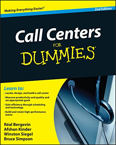 Call Centers For Dummies (English Edition)