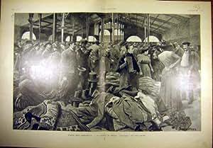 Temple 1901 de Paris Qui Disparait L'Essayage Carreau