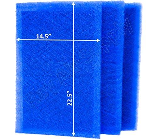 RAYAIR SUPPLY rayair 16x 25Dynamic Luft sauberer Ersatz Filter Pads 16X 25Refills (3Pack) -