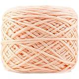 DIY Milk Cotton Yarn bébé fil de laine pour tricoter enfants Hat tricoté main Yarn-Light Pink