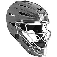 Under Armour profesional brillante adultos casco de receptor de béisbol, Graphite