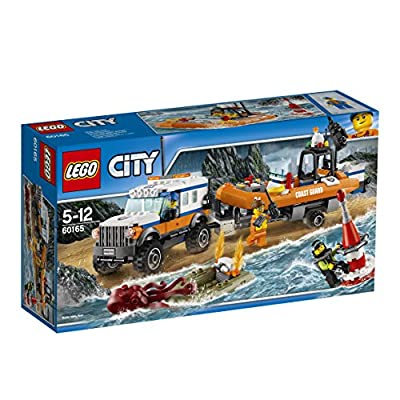 "LEGO UK 60165 ""4 x 4 Response Unit"" Construction Toy"