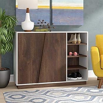 Pengu Wooden Shoe Rack, Shoe Cabinet