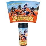 WinCraft Denver Broncos Super Bowl 50 Champions NFL Travel Mug