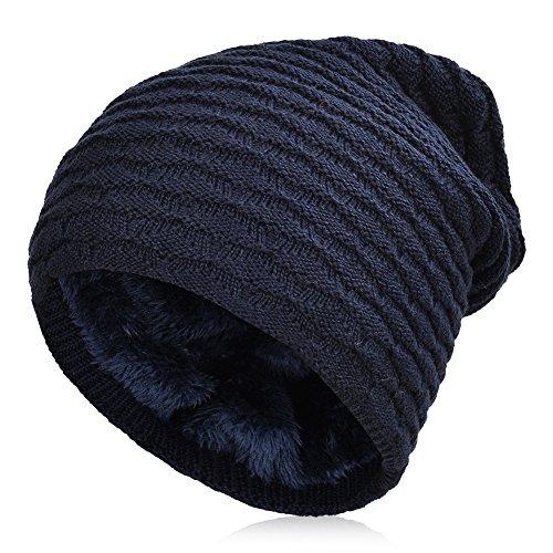 VBIGER Beanie Cappello in Maglia Cappelli Invernali Berretti in maglia  Cappello Invernale Beanie Unisex Caldo Cappello 62484fb6a94c