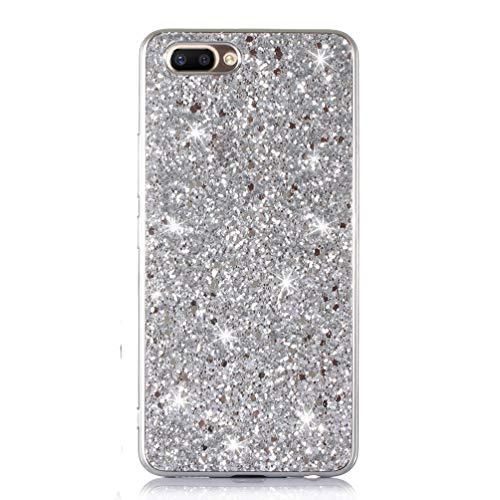 iPhone 8 Plus Hülle Glitzer, iPhone 7 Plus Handyhülle Bling Glitter Hart PC Schutzhülle für...