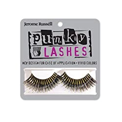 Jerome Russell Punky Eye Lashes, Gold