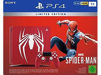 PlayStation 4 - Konsol (1TB) Limited Edition Spider-Man Bundle (1 DualShock 4 Controller)