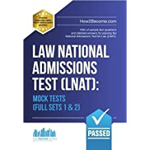 Law National Admissions Test (LNAT): Mock Tests Full Sets 1 & 2