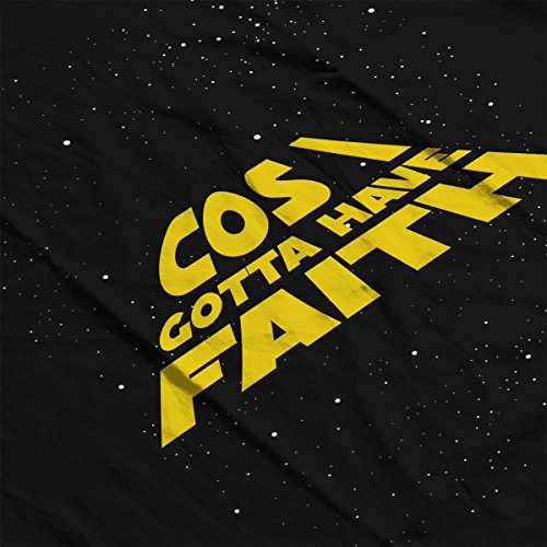 Star Wars George Michael Cos I Gotta Have Faith Women's Sweatshirt Black