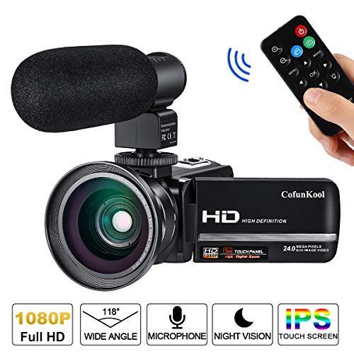 Die Cofunkool Videokamera Vlogging  im Vergleich