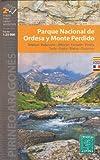 Ordesa et Monte Perdido National Park (Espagne, Pyrénées) 1:25.000 carte de randonnée topographique ALPINA
