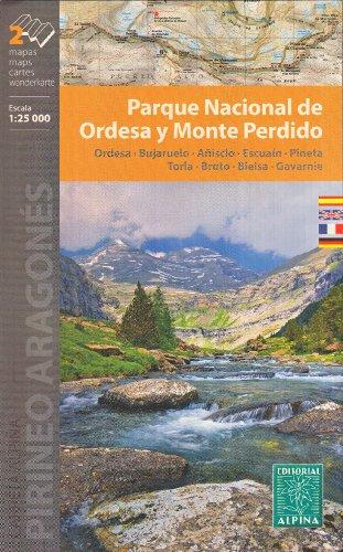 Ordesa et Monte Perdido National Park (Espagne, Pyrénées) 1:25.000 carte de randonnée topographique ALPINA par AlpinaEditions