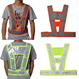 Visibility Traffic waistcoats Vest Security Reflective Stripes Safety Jacket