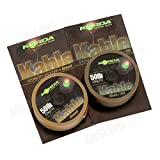 Korda Kable Leadcore 7m Spools: Weed / Silt