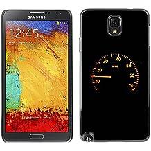 Paccase / SLIM PC / Aliminium Casa Carcasa Funda Case Cover para - Speedometer - Samsung Note 3 N9000 N9002 N9005