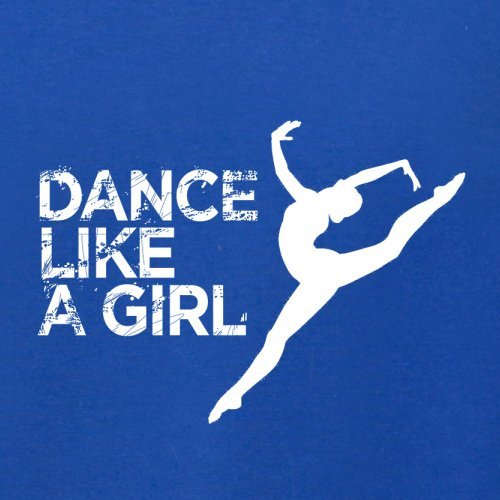 Dance Like A Girl - Herren T-Shirt - 13 Farben Royalblau