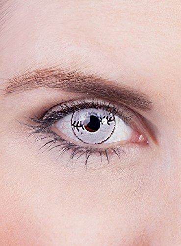 Halloween Karneval Party Motiv Kontaktlinsen Narbe 1-Monatslinsen ohne (Billig Kontakt Linsen)