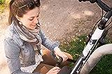 Fahrradschloss / Zahlenschloss für Fahrräder, Roller, Mofa, Tore & Motorräder / ca. 100000 mögliche Zahlenkombinationen / REACH geprüft / Länge von ca.85 cm / Dicke der Elemente ca. 6mm ( idealer Diebstahlschutz ) »CloseUp« Schwarz -