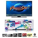 SeeKool [2000 Classic-Spiele] Home Arcade Konsole, Pandoras Box 6 Joystick Spielkonsole, Kundenbezogene Schaltflächen, 1280x720 Full HD, Unterstützt PS3, pielcontroller, HDMI und VGA Ausgang