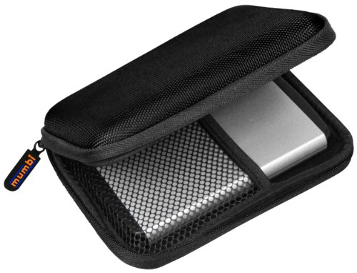 mumbi externe Festplattentasche bis 6,35 cm (2,5 Zoll) schwarz Test