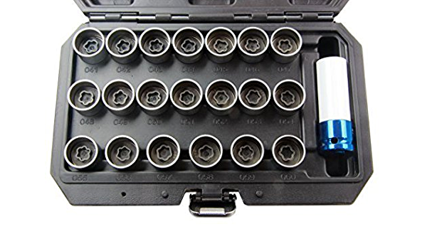 Us Pro Steckschlüsselgarnitur Master Für Bmw Radmutter Schlüssel 21 Teiliges Set 1481 Auto