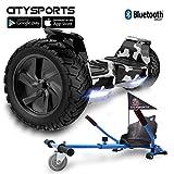 CITYSPORTS Balance Board Tout Terrain 8.5', Self-Balancing Scooter Hummer SUV, Bluetooth et APP, 700W