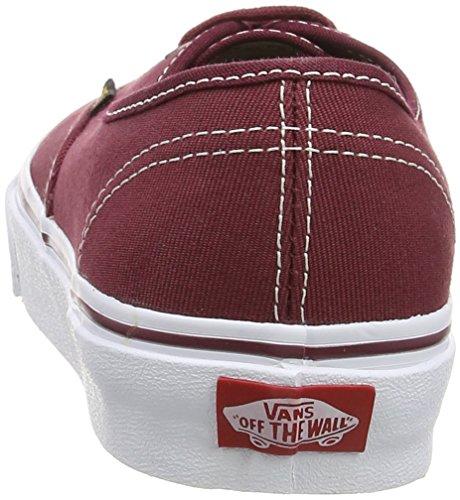 Vans Authentic, Sneakers Basses Mixte Adulte Rouge (Surplus/Port Royale/Port)