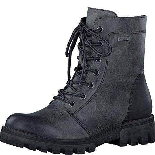 Schnürstiefel Stiefel Boots Tamaris Damenschuhe Graphite 1 1 Damen 27 26209 0YqUZx0