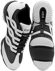 Bloch 522 Twist Tanz Sneaker Weiß Größe 40 2/3