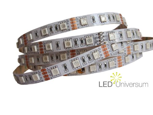 1,5 Meter RGB LED Strip Stripe Streifen Leiste Band (60 LED/m, IP20) - Anschluss 4 pol Stecker